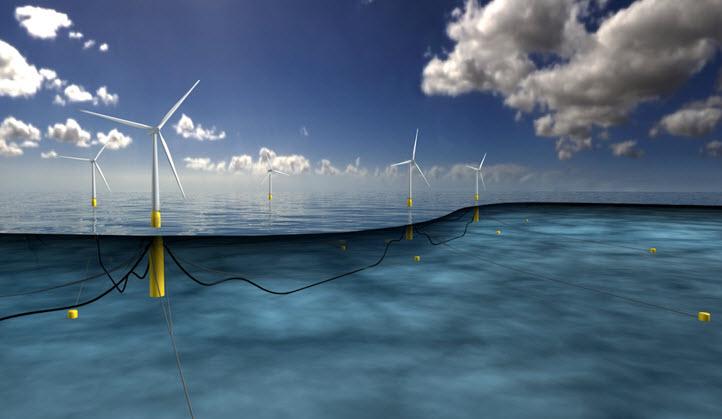 Компания Statoil построит самую большую плавучую ветроэлектростанцию возле берегов Шотландии