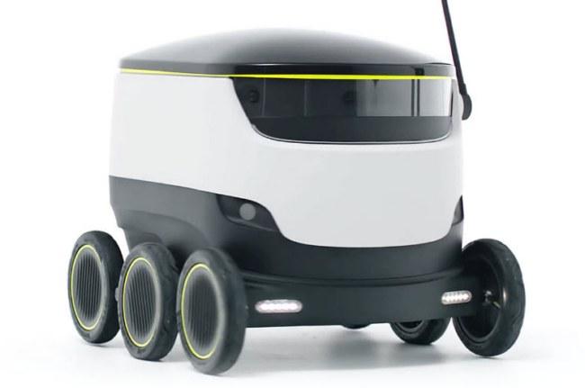 Основатели Skype представили сервис доставки товаров, в котором будут задействованы самоходные колесные роботы - 1