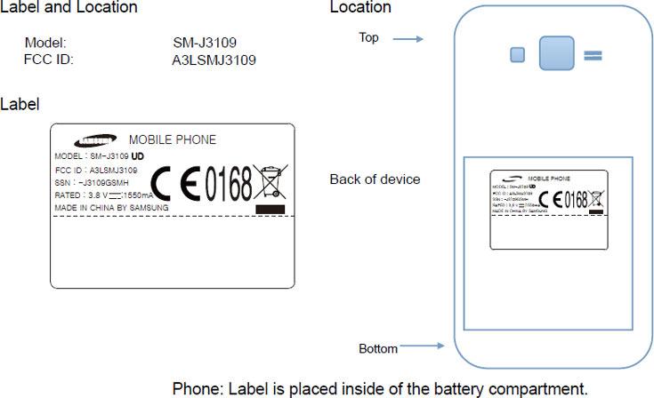 Смартфон Samsung Galaxy J3 прошел сертификацию FCC