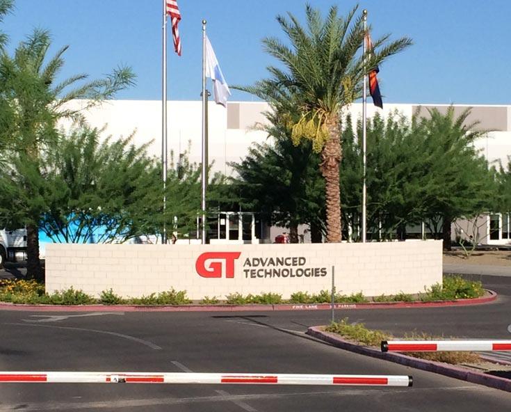 У GT Advanced Technologies не получается продать оборудование для изготовления сапфира