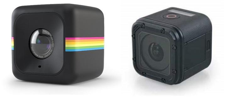 Polaroid обвиняет GoPro в копировании дазайна её камеры Cube