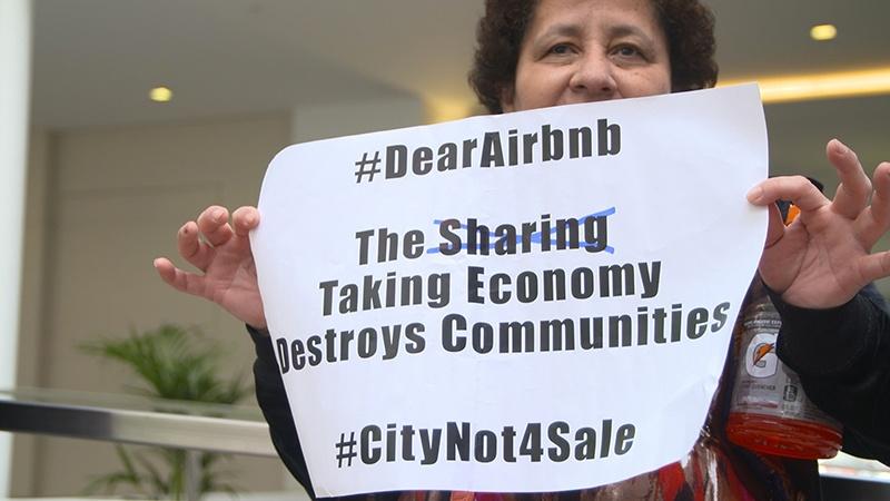 Гостеприимный гигант Airbnb и Предложение F - 1