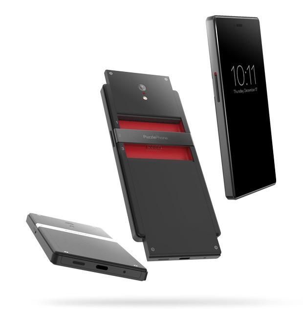 Модульный смартфон PuzzlePhone имеет «мозг», «позвоночник» и «сердце»