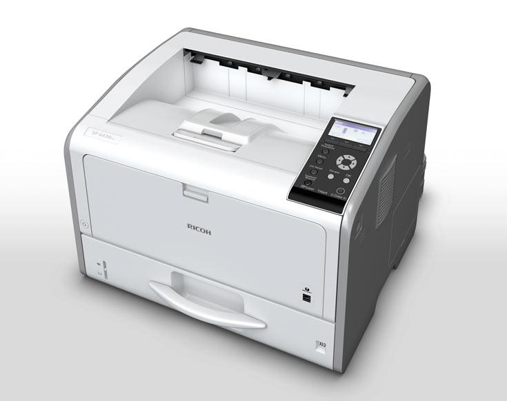 Производитель позиционирует Ricoh SP 6430DN как решение для небольших офисов