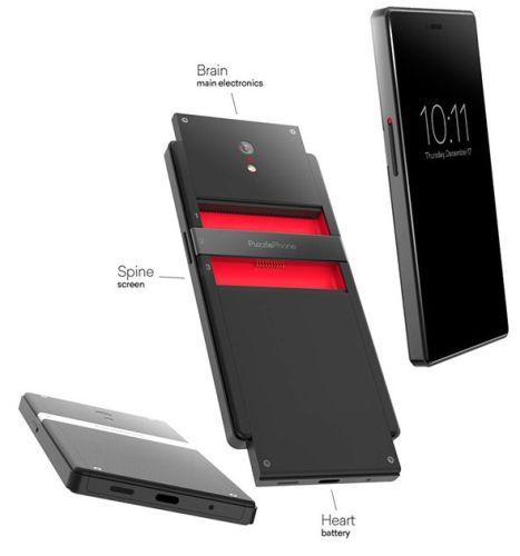 На Indiegogo запущена кампания для модульного телефона PuzzlePhone - 2