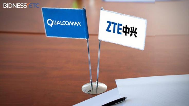 Qualcomm и ZTE остаются долгосрочными партнерами