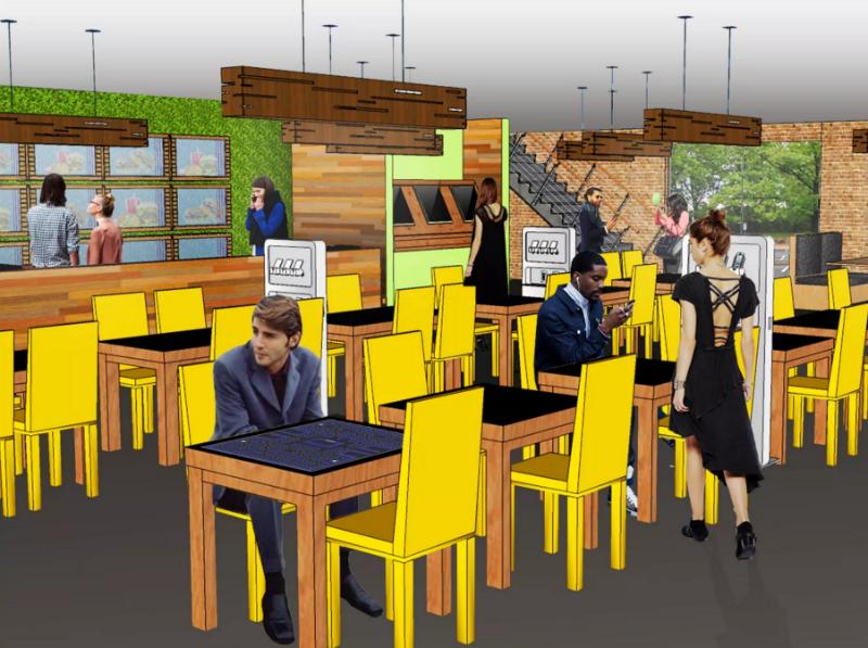 Год 2040: Как могут выглядеть рестораны будущего - 1