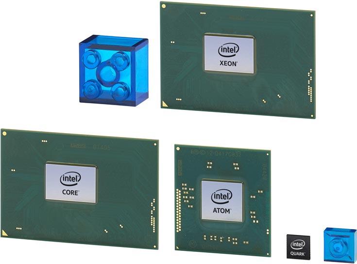 Однокристальная система Intel Quark SE и микроконтроллеры Intel Quark D1000 и D2000 характеризуются высокой производительностью и низким энергопотреблением