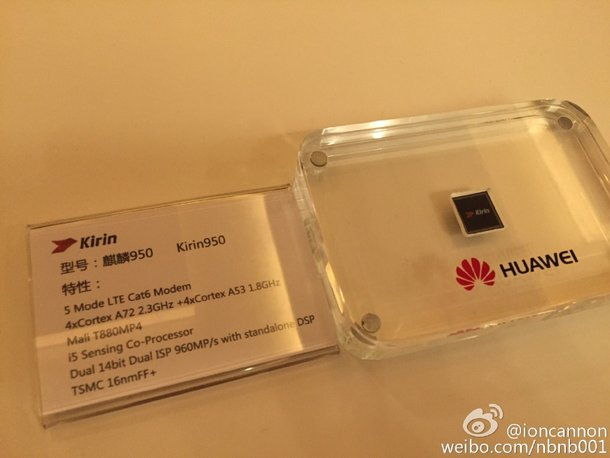 SoC Huawei HiSilicon Kirin 950 получила GPU Mali-T880MP4