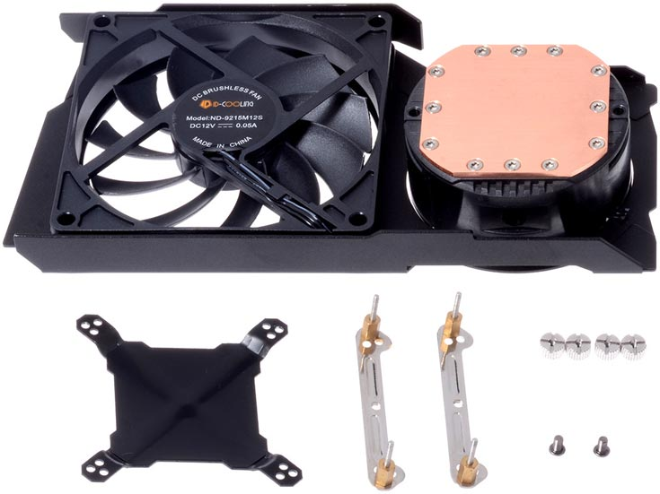 Система охлаждения ID-Cooling FrostFlow 240G подходит для 3D-карт на базе GPU AMD и Nvidia с TDP до 300 Вт