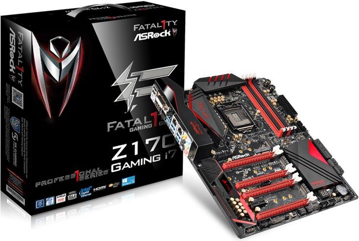 О цене платы ASRock Z170 Professional Gaming i7 данных нет