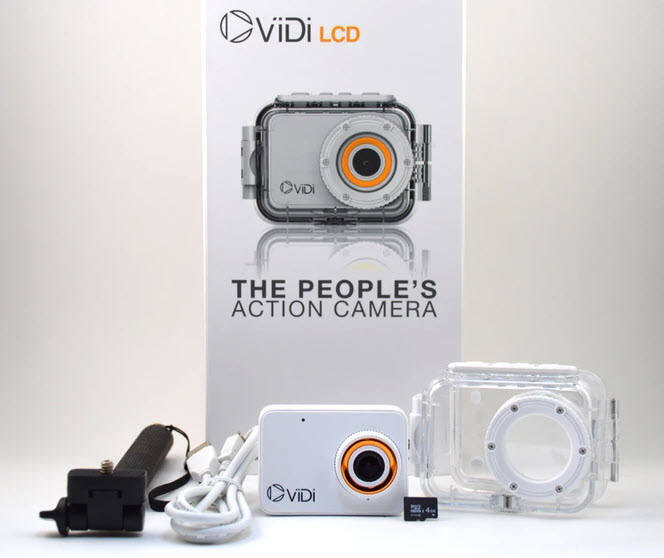 Доступная экшн-камера ViDi успешно профинансирована на Kickstarter