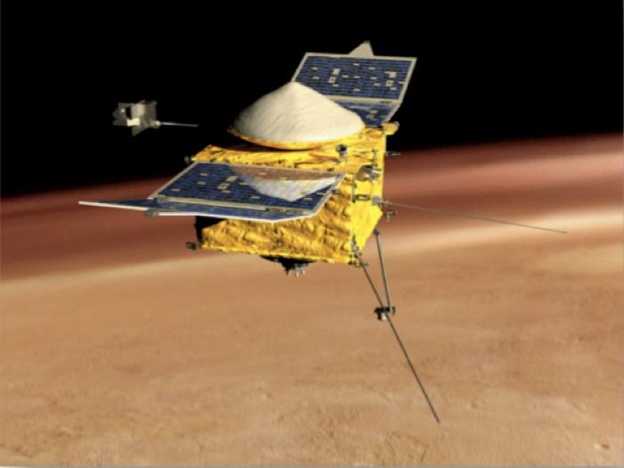 Ученые NASA определили основную причину изменения атмосферы Марса - 2