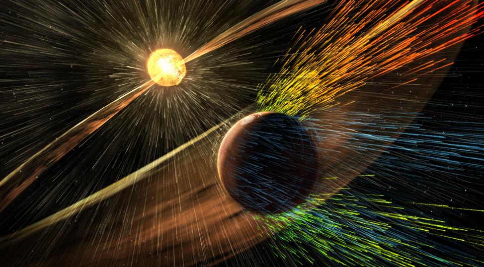 Ученые NASA определили основную причину изменения атмосферы Марса - 1