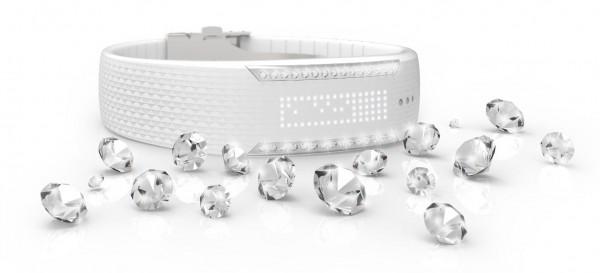 Умный браслет Polar Loop Crystal украшен кристаллами Swarovski