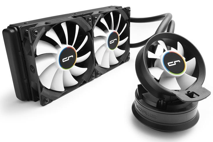 Гибридные охладители Cryorig A40, A40 Ultimate и A80 объединяют жидкостное и воздушное охлаждение