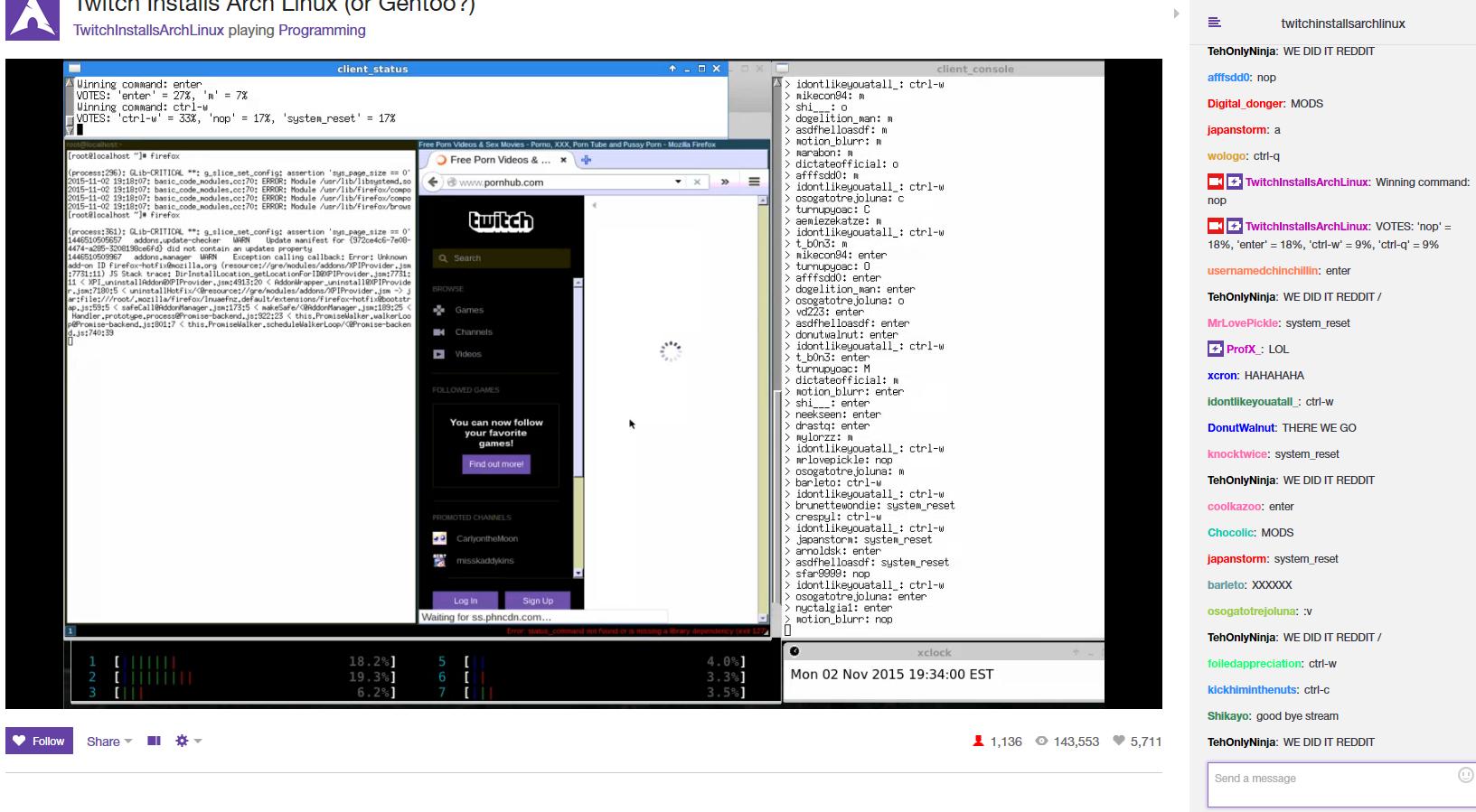 Неделя установки Arch Linux на Twitch - 9