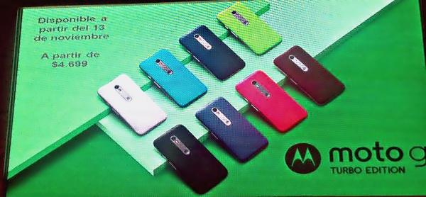 Смартфон Motorola Moto G Turbo получил SoC Snapdragon 615
