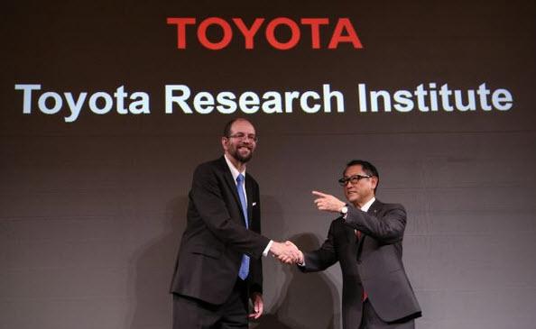 Toyota потратит на разработки в области систем искусственного интеллекта $1 млрд