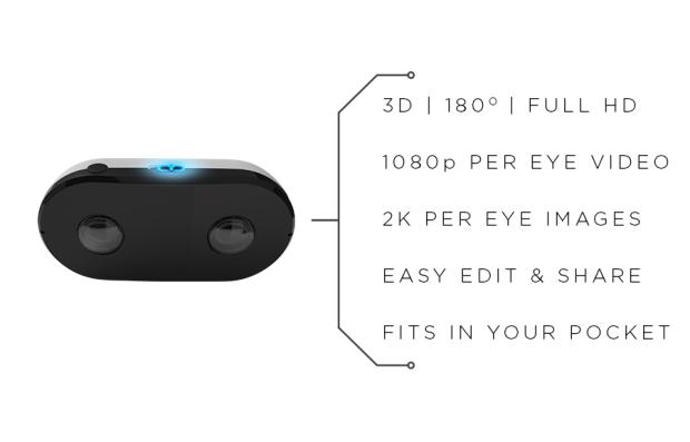 LucidCam — потребительская камера, которая снимает видео для гарнитур VR - 2