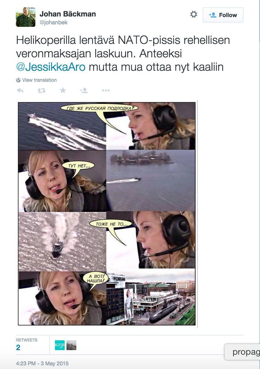 Журналист финской телерадиокомпании Yle стала жертвой троллей в интернете - 3