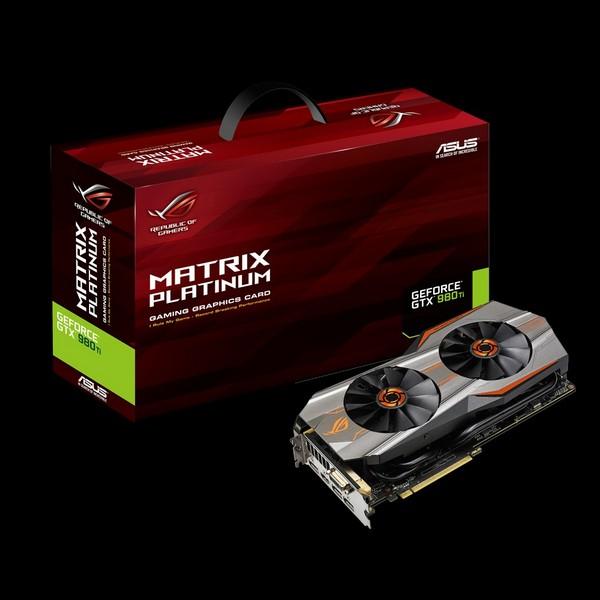 Анонсирована видеокарта Asus ROG Matrix GTX 980 Ti Platinum