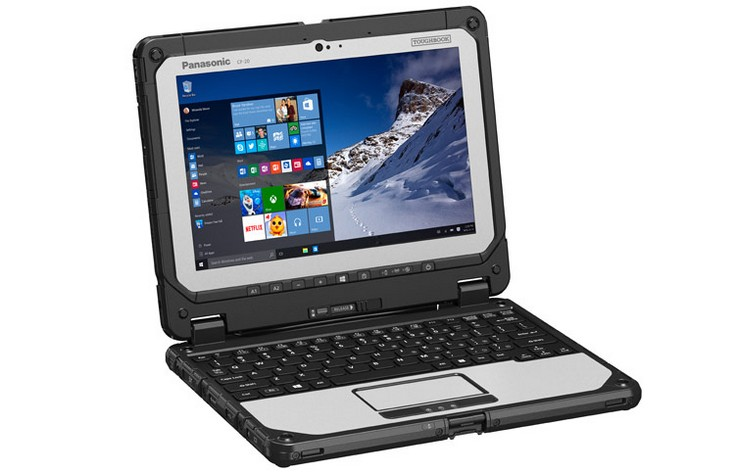 Panasonic Toughbook 20 получил CPU Intel Core M
