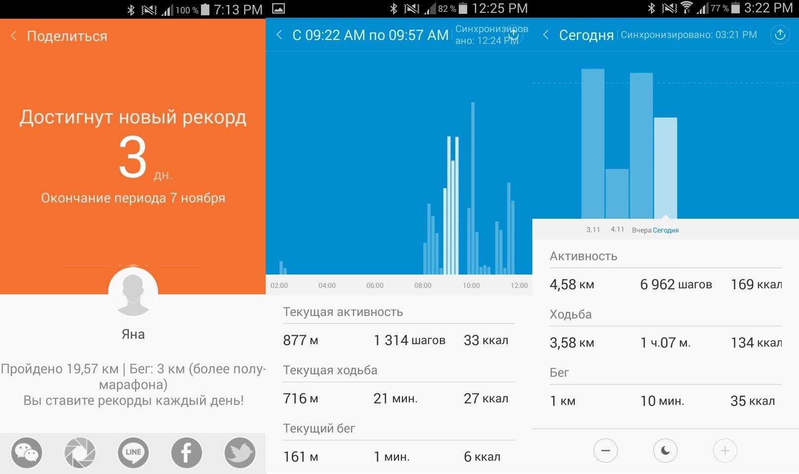 Xiaomi Mi Band. Территория фитнеса - 5