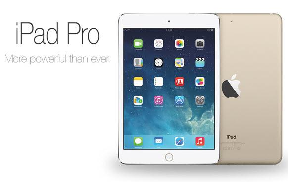 iPad Pro поступит в продажу 11 ноября 2015
