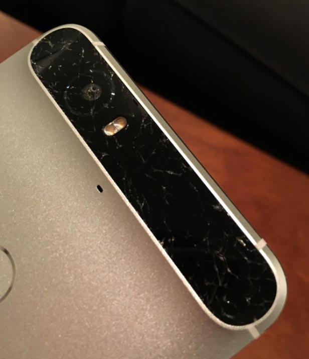 Пока сообщения о трещинах на стеклах Nexus 6P носят единичный характер