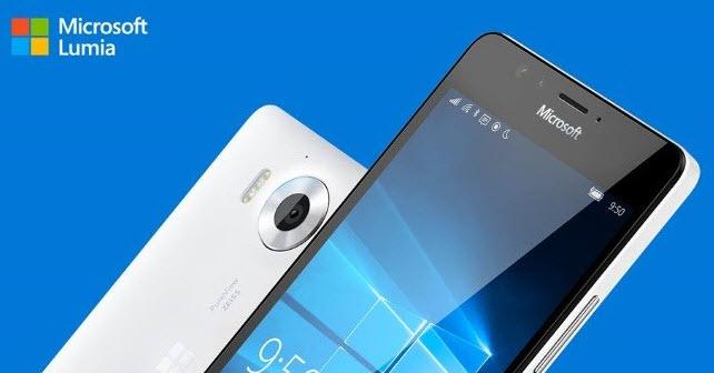 По слухам, смартфоны Lumia 950 и Lumia 950 XL поступят в продажу 20 ноября