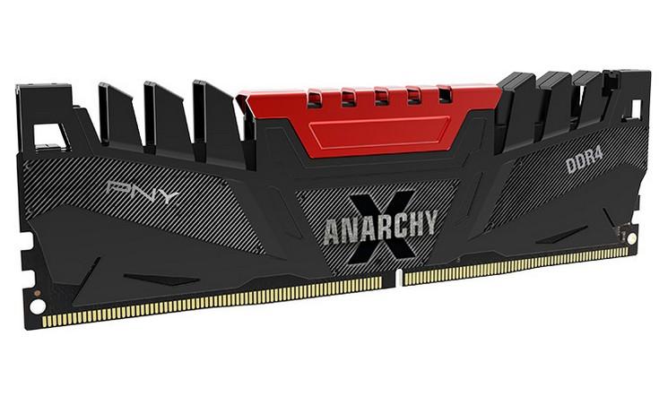 ОЗУ PNY Anarchy X работает на частоте 2800 МГц