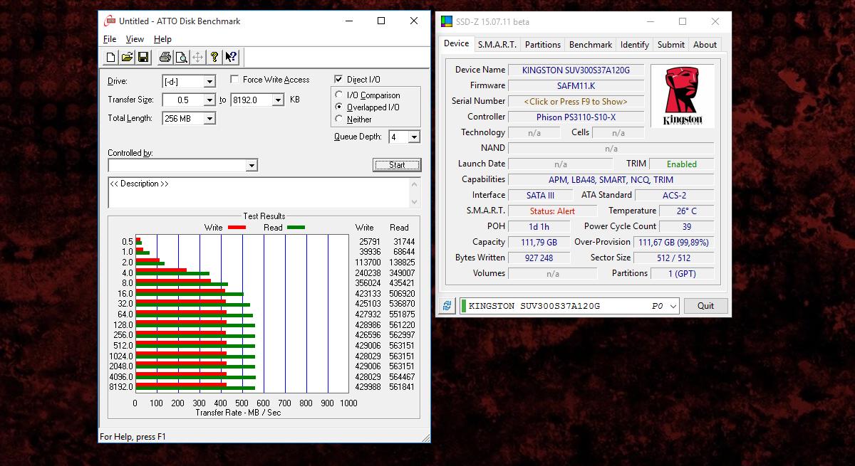 [Тестирование] Твердотельный накопитель Kingston UV300 с памятью TLC емкостью 120 гигабайт - 6