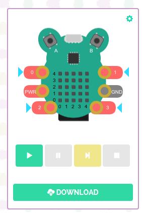 Создаем виртуального питомца из платы CodeBug - 4