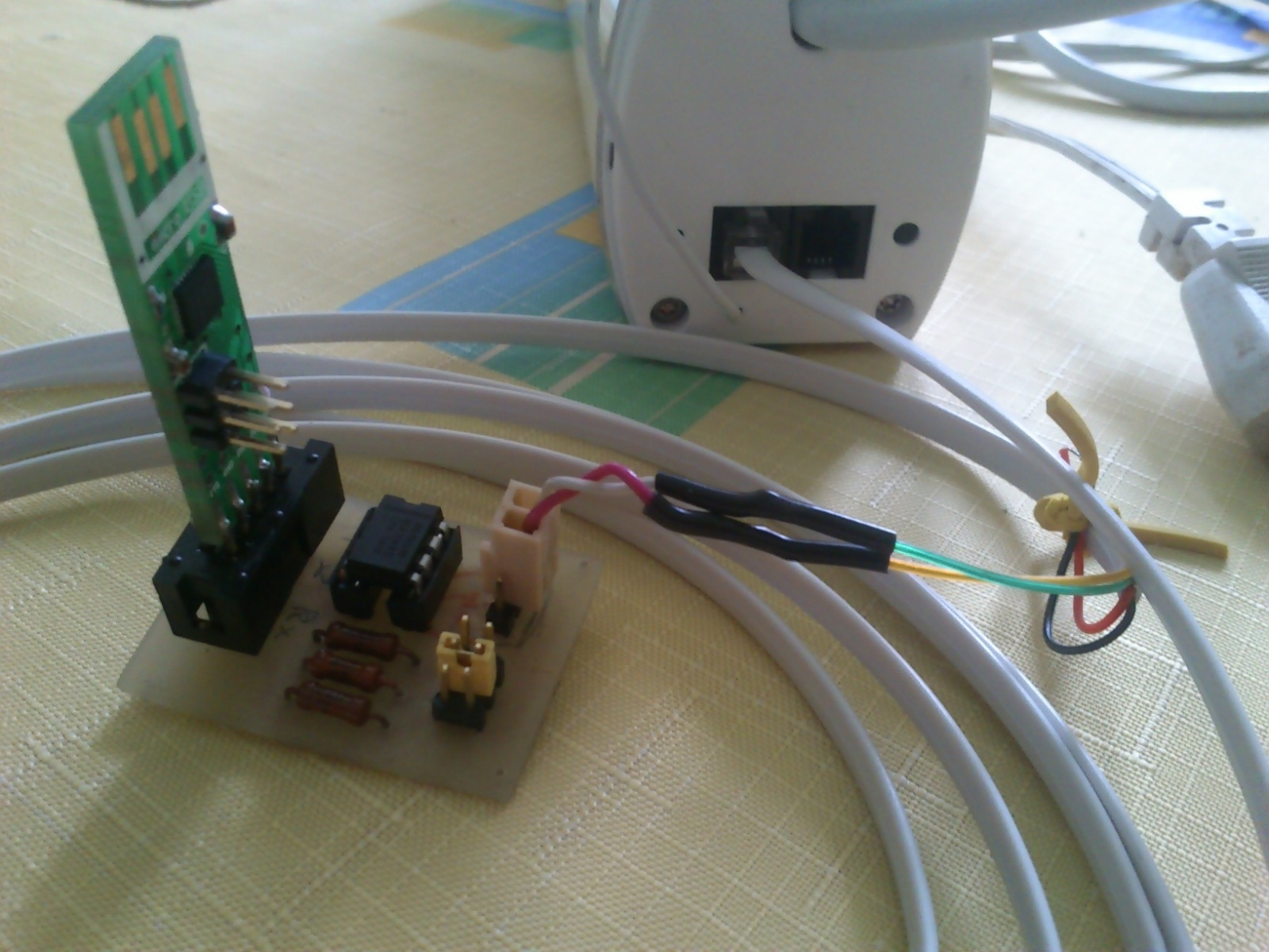 Управление шторой по интерфейсу RS-485 - 3