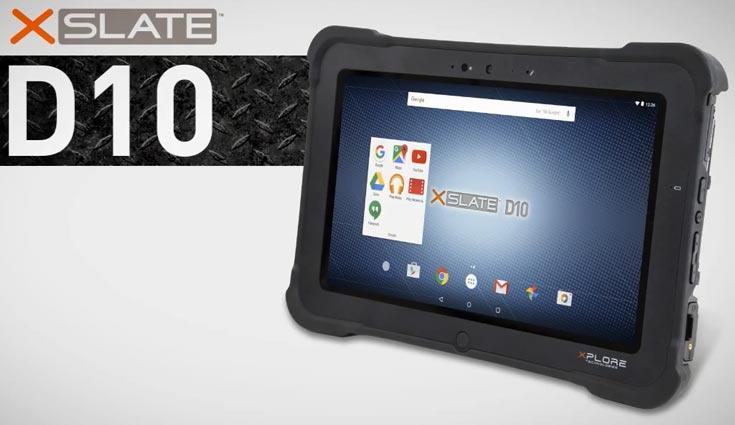Защищенный планшет Xplore Xslate D10 оснащен портами USB 3.0 и Gigabit Ethernet