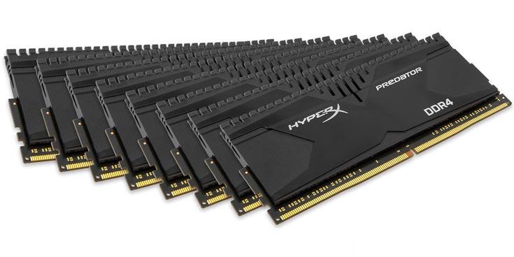 В линейки Savage и Predator входят наборы модулей памяти DDR4, работающих на эффективных частотах от 2133 до 3000 МГц