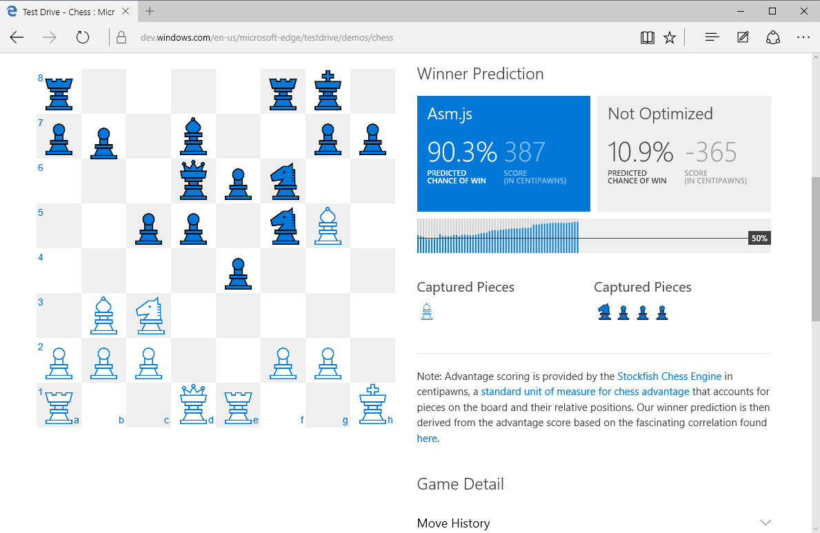Microsoft добавила полноценную поддержку asm.js в Edge в Windows 10 - 2