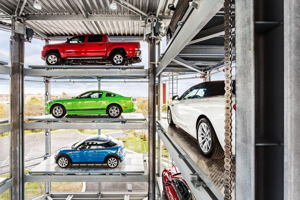 Купить автомобиль в торговом автомате? Не проблема: кидай монетку, получай авто - 4