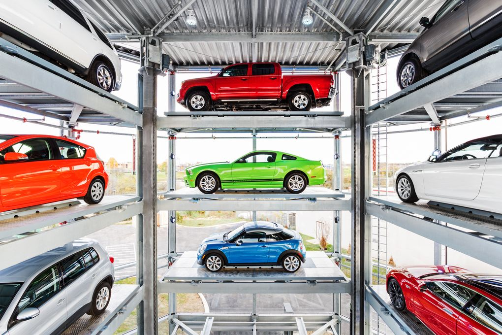 Купить автомобиль в торговом автомате? Не проблема: кидай монетку, получай авто - 6