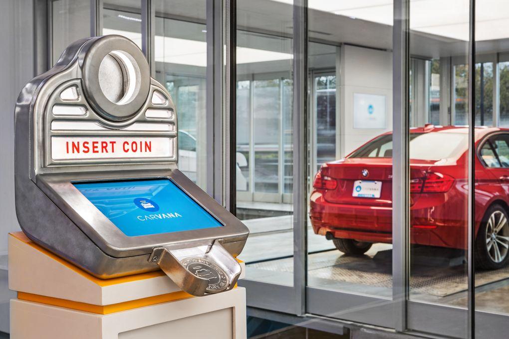 Купить автомобиль в торговом автомате? Не проблема: кидай монетку, получай авто - 7