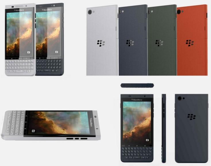 Появились первые изображения нового смартфона BlackBerry Vienna под управлением Android, который вернется к классическому форм-фактору