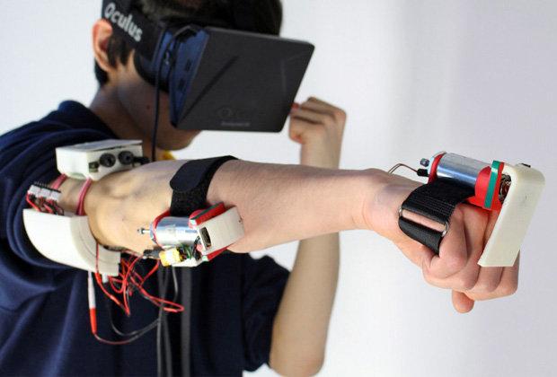 Виртуальная реальность может ударить и обжечь - 1