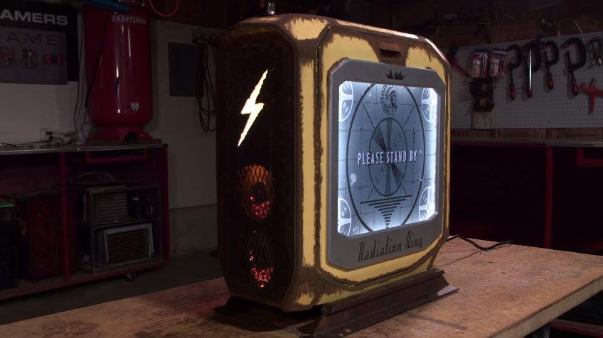 Fallout Rig — моддинговый ПК в стиле Fallout - 1