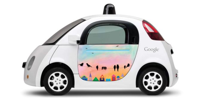 Робомобиль Google был остановлен полицейским за слишком медленную езду - 1