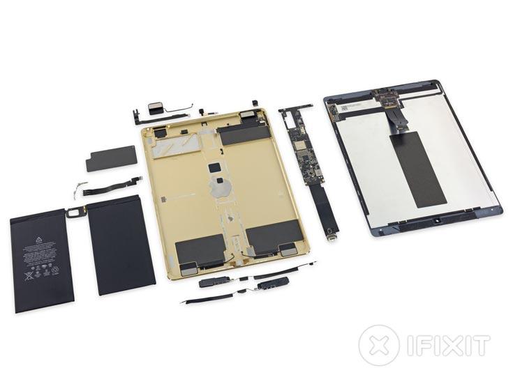 Плюс у конструкции Apple iPad Pro оказался один — простота замены аккумулятора