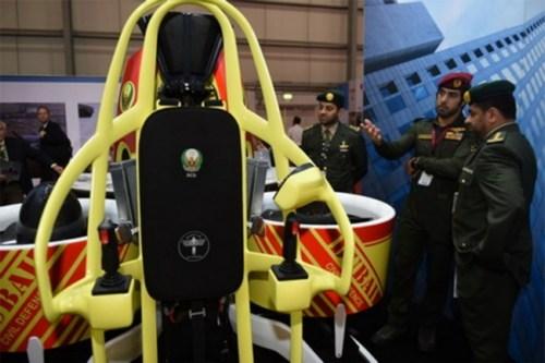 Пожарные Дубая будут использовать джет-паки