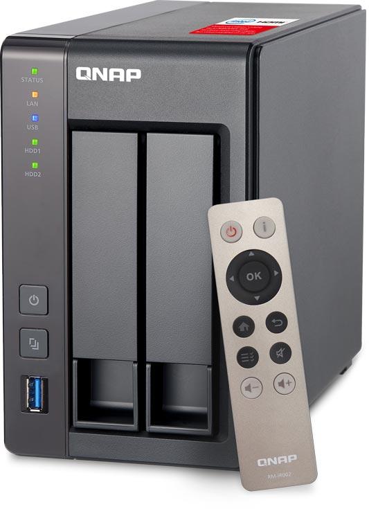 Домашние хранилища с сетевым подключением QNAP TS-251+ и TS-451+ поддерживают виртуализацию и шифрование