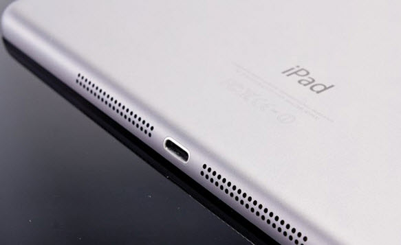 Разъем Lightning в iPad Pro поддерживает передачу данных на скорости, соответствующей спецификации  USB 3.0