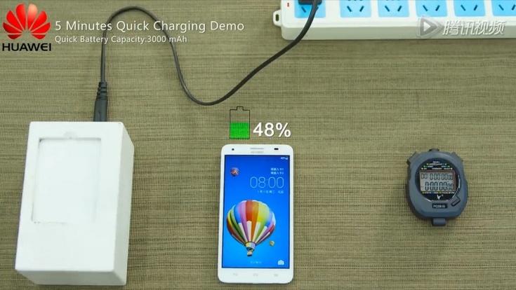 Huawei показала аккумуляторы, которые заряжаются очень быстро